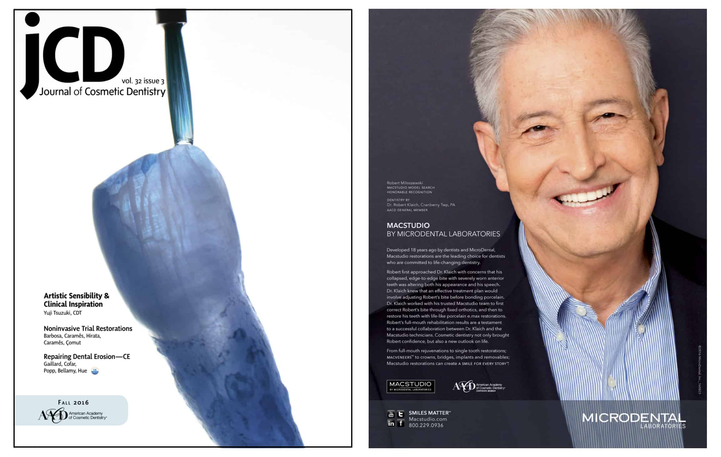 Cranberry Dental Studio | Journal of Cosmetic Dentistry Fall 2016