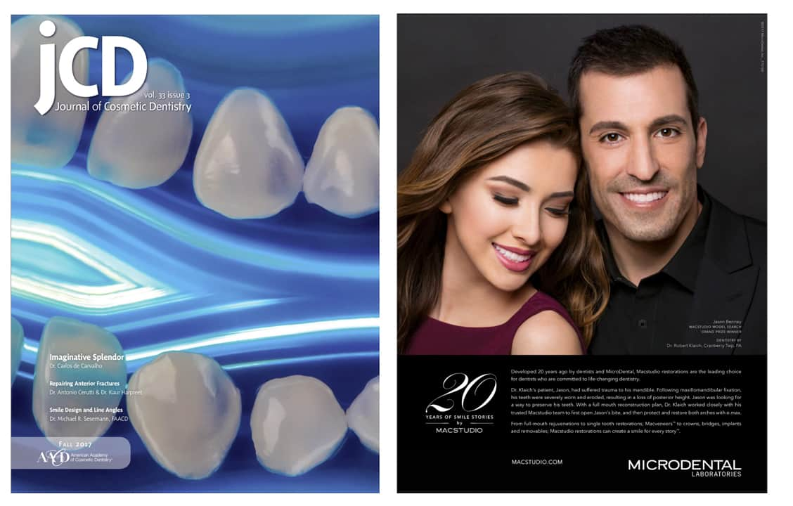 Cranberry Dental Studio | Journal of Cosmetic Dentistry Fall 2017