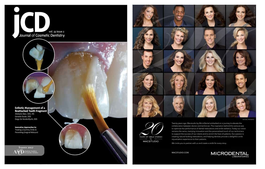 Cranberry Dental Studio | Journal of Cosmetic Dentistry Summer 2017