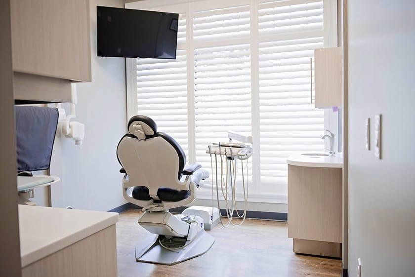 Cranberry Dental hygienist room