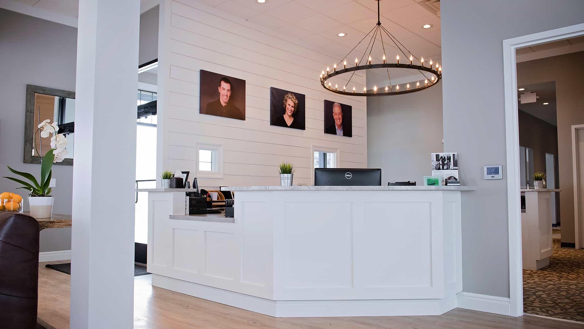 Cranberry Dental Studio waiting room